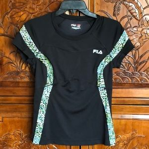 Flattering Fila Athletic Top